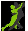 名古屋/ 東京ソシアルダンスアカデミー| 初めてダンスをされる方から 若い方、ご年配の方、競技選手など幅広い方々に 丁寧なレッスンを行っています。 ロゴ
